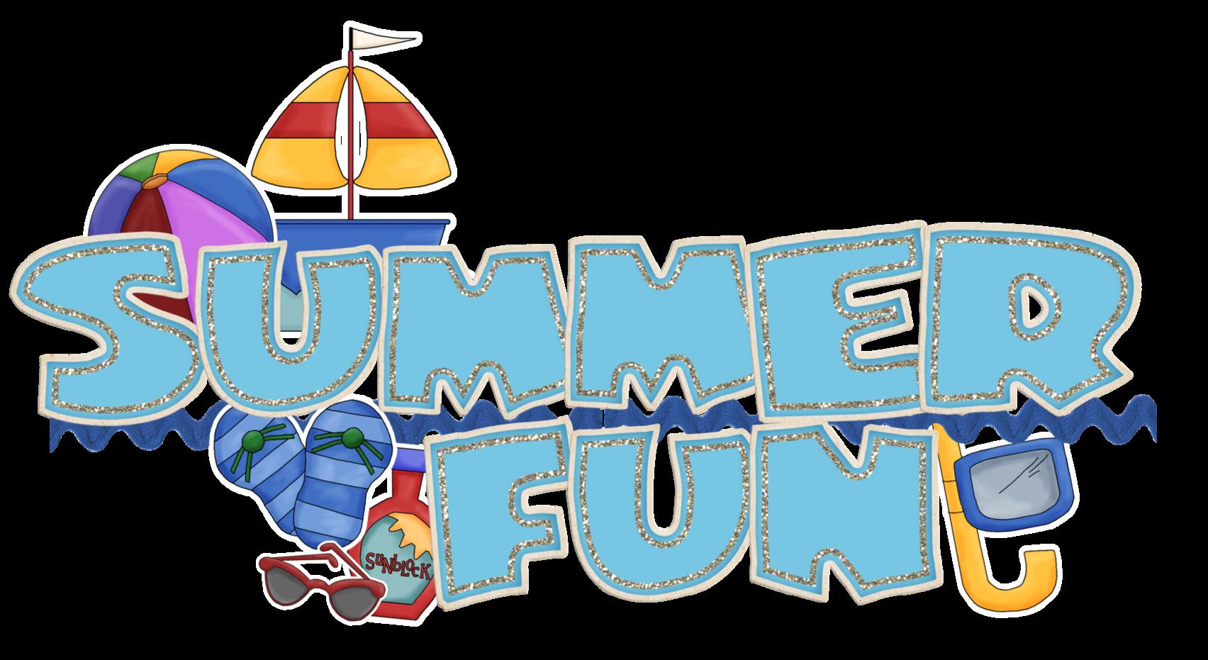 Summer Vacation Clip Art.
