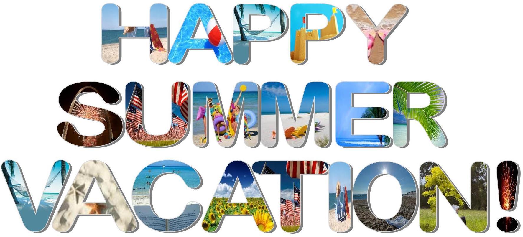 Summer vacation clipart clipartfest.