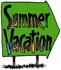 Summer Vacation Clipart.