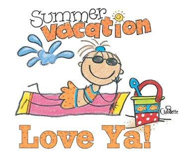 Summer Vacation Clipart.