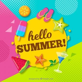 Summer Vectors, Photos and PSD files.