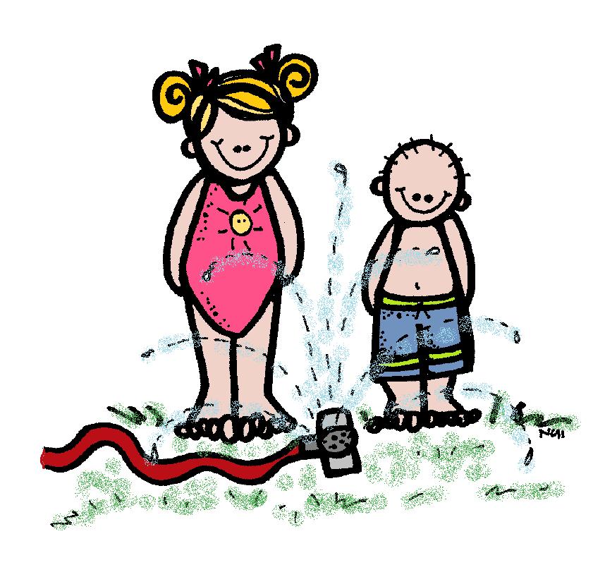 Summer Water Fun Clipart.