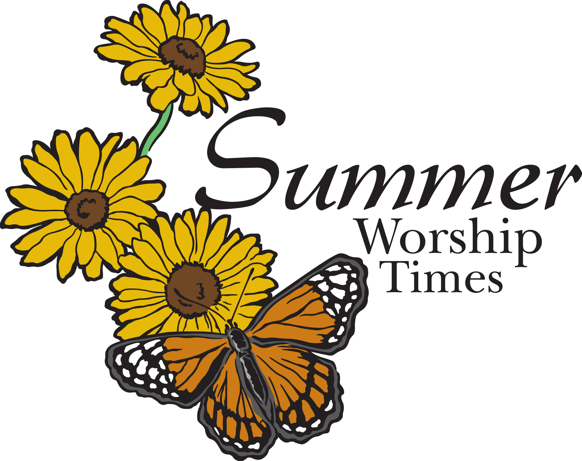 SUMMER WORSHIP SCHEDULE.