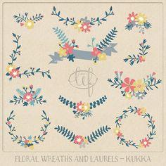 Vine Wreath Clipart Jpg Recolor.