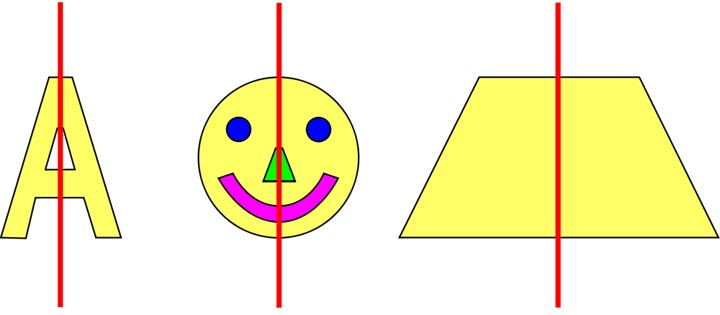 Symmetry Clipart.