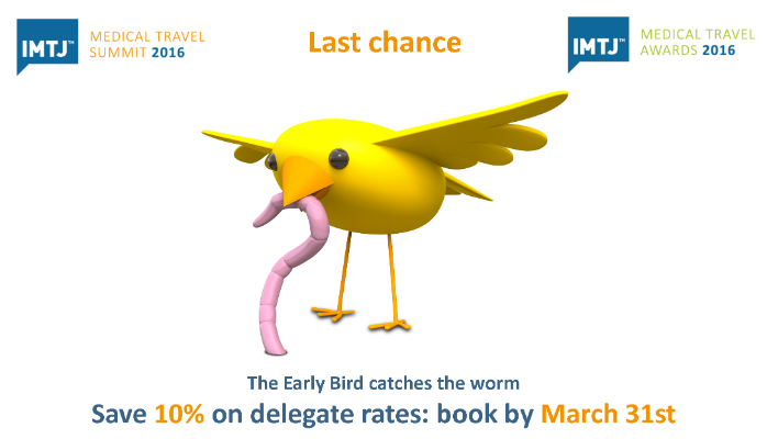 24 hours to book your place at the IMTJ Summit and save on.