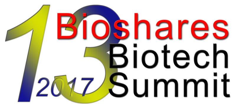 Bioshares Biotech Summit 2017.