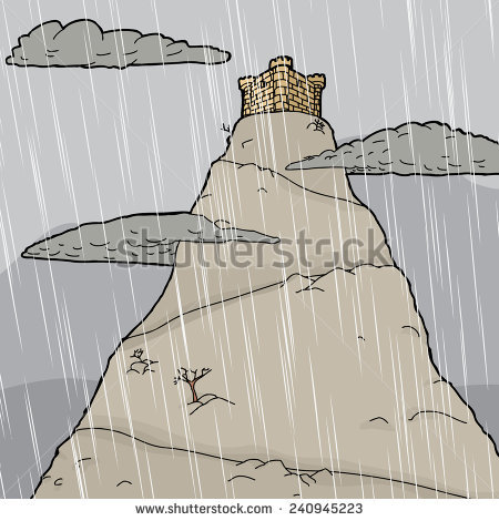 Summit castle clipart #2