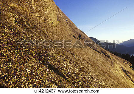 Picture of Climbing at Raven's Castle, just below the summit of.