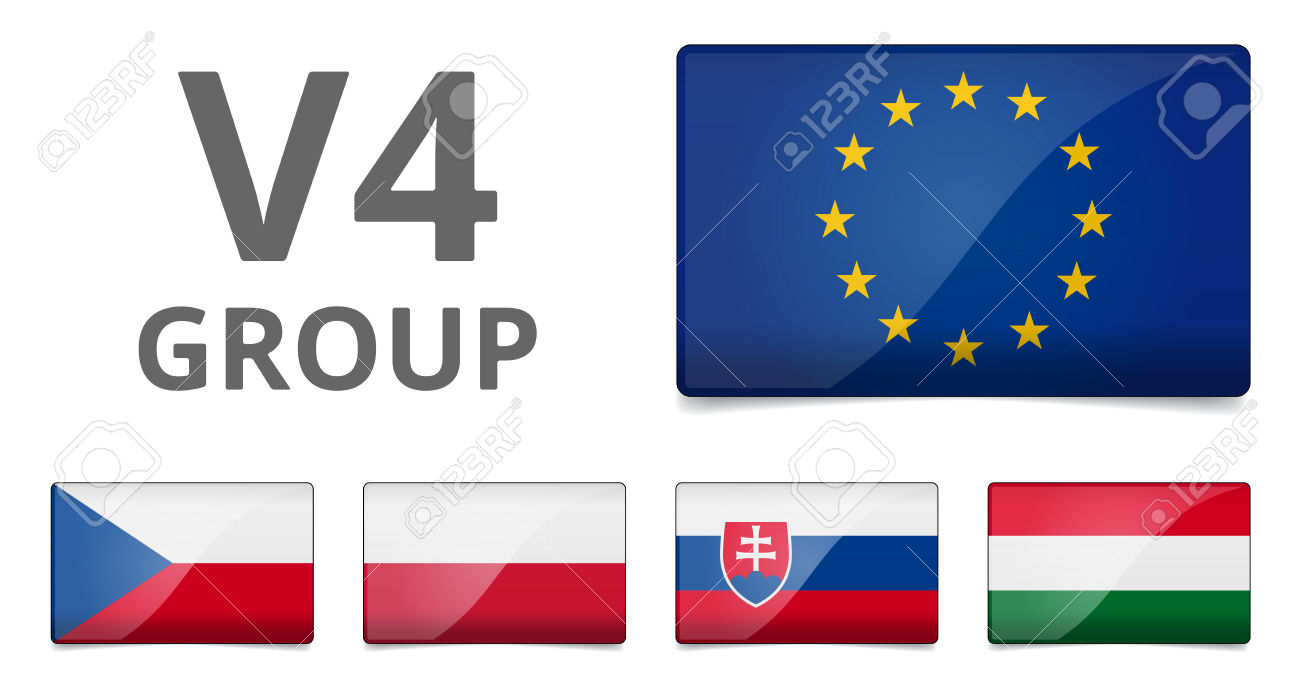 V4 Visegrad Group Summit.