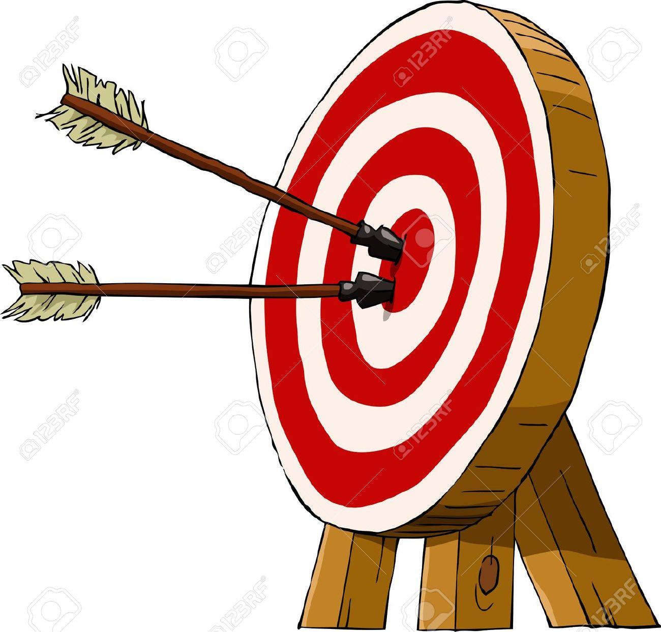 Archery arrow clipart