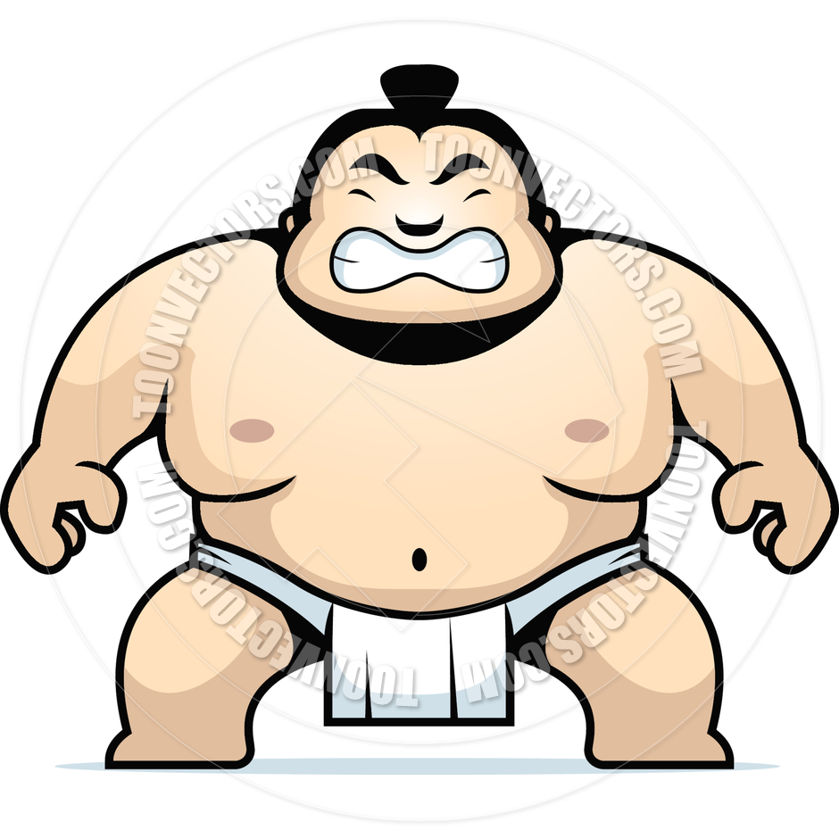 Sumo Wrestler by Cory Thoman.