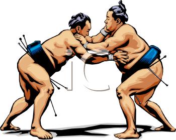 Sumo Wrestling.