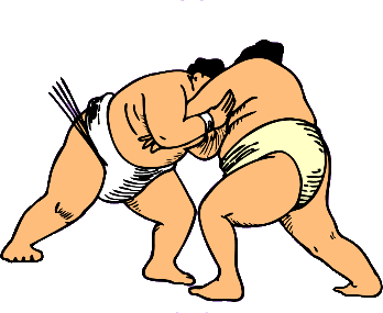 Showing post & media for Cartoon sumo wrestler clip art.