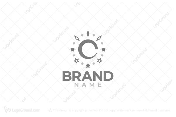Exclusive Logo 150928, Sun And Moon Logo.