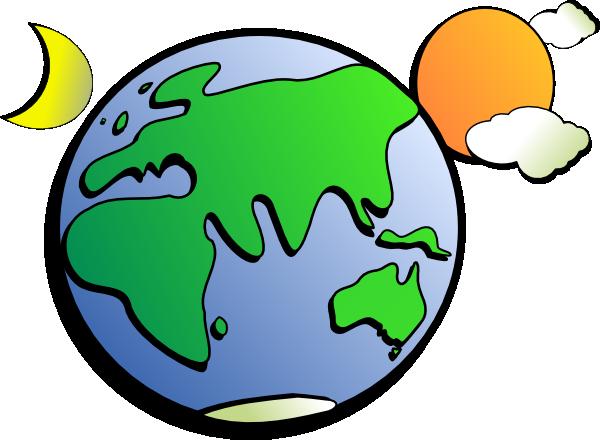 Cartoon Earth Sun And Moon Clip Art at Clker.com.