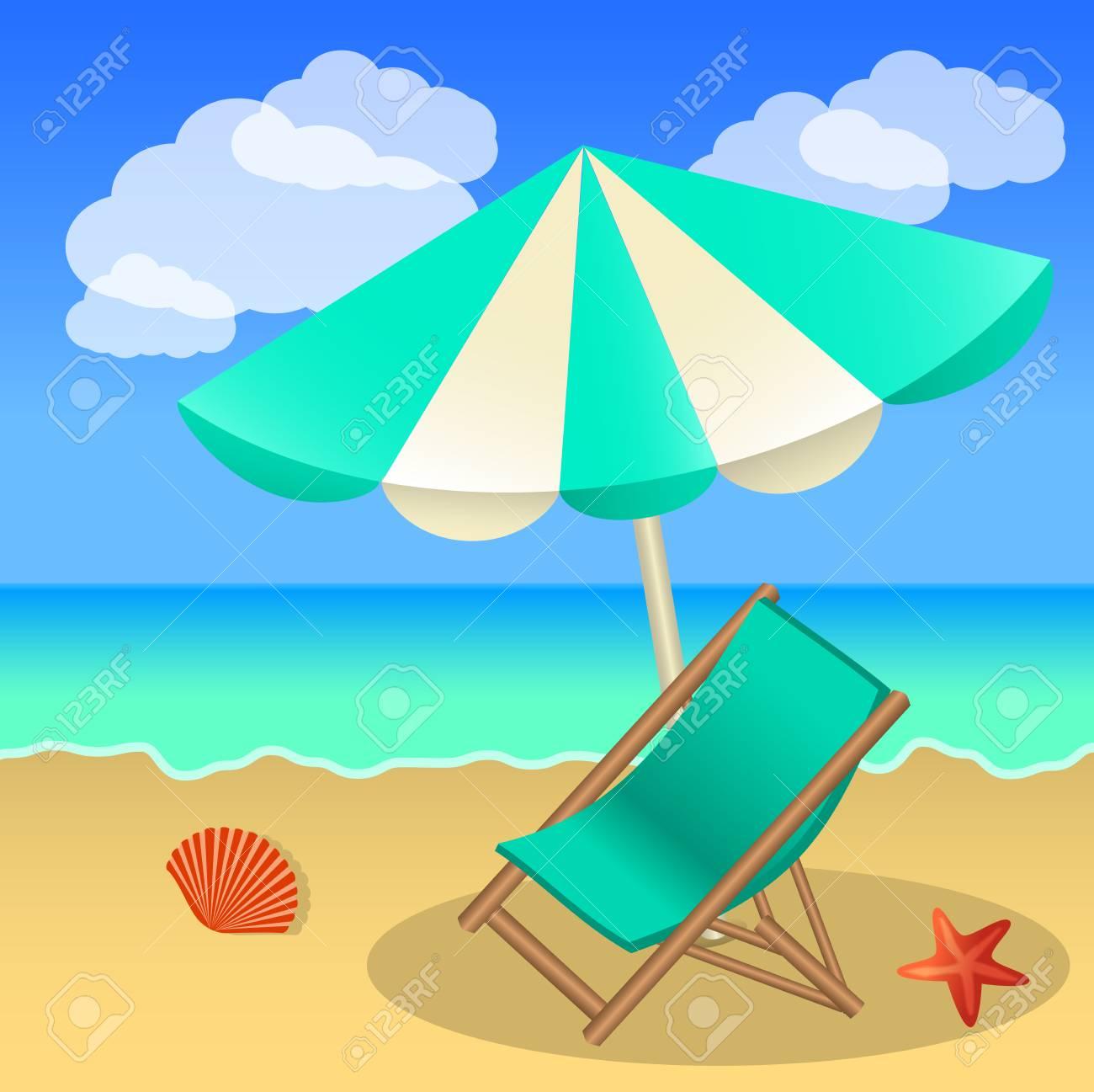 Sand clipart beach umbrella.