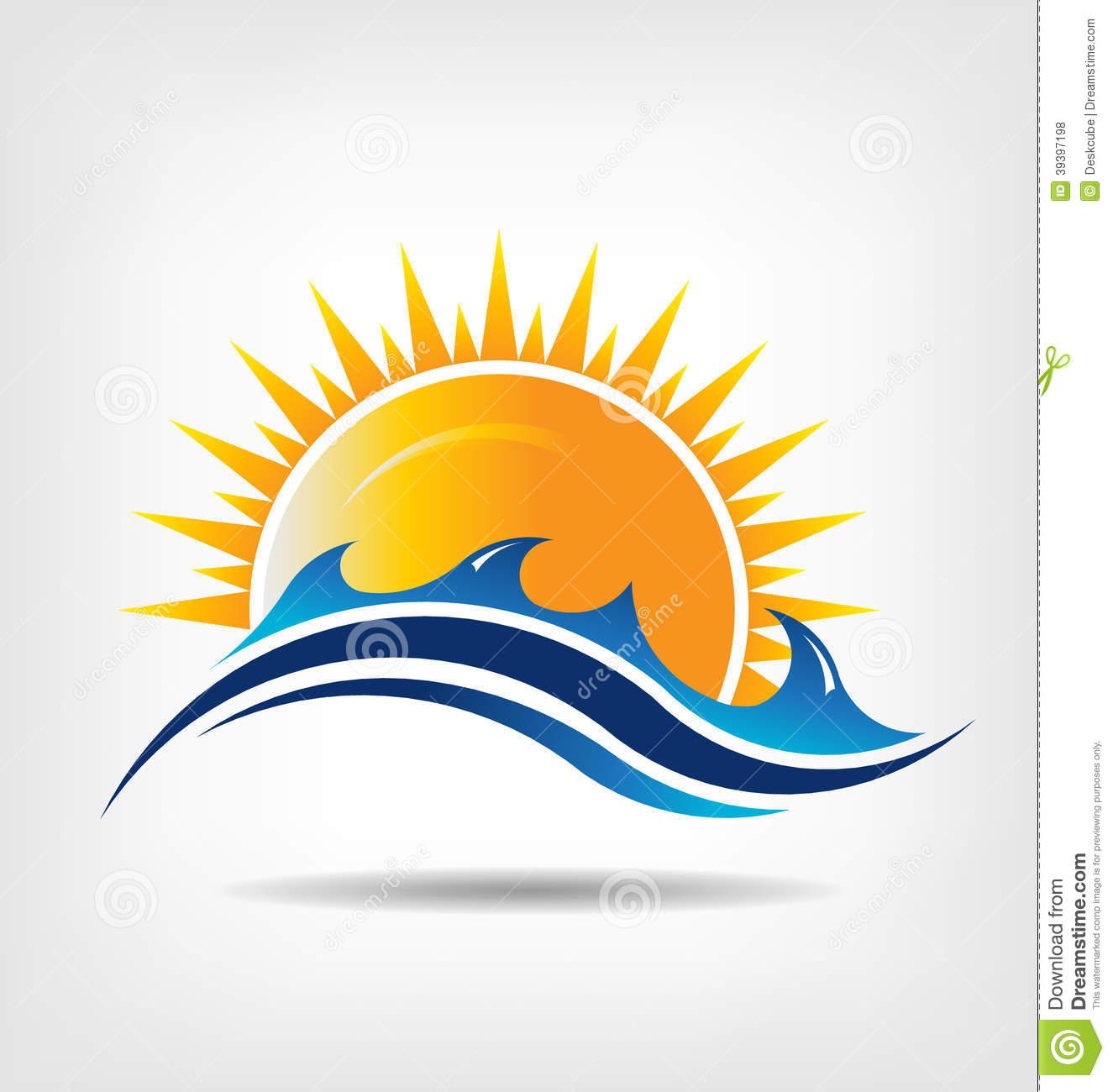 Sea And Sun Clipart.