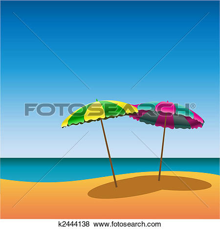 Clip Art of Sunshades k2444138.