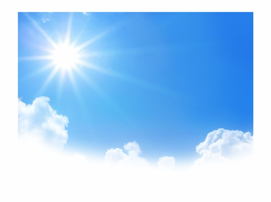 Clouds Sun Ftestickers Report Blue Sky Png Hd.