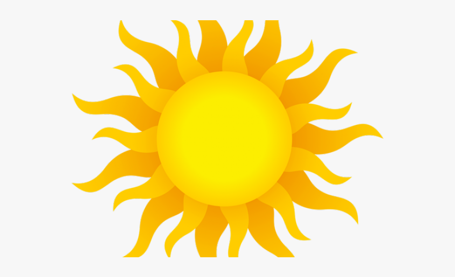 Animated Sun With Transparent Background, Cliparts.