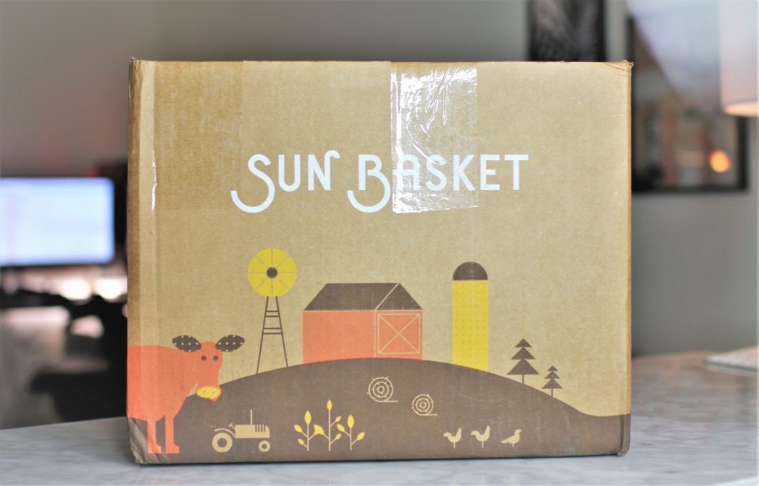 Sun Basket Meal Kit.