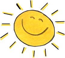 Sunbeam Clipart.