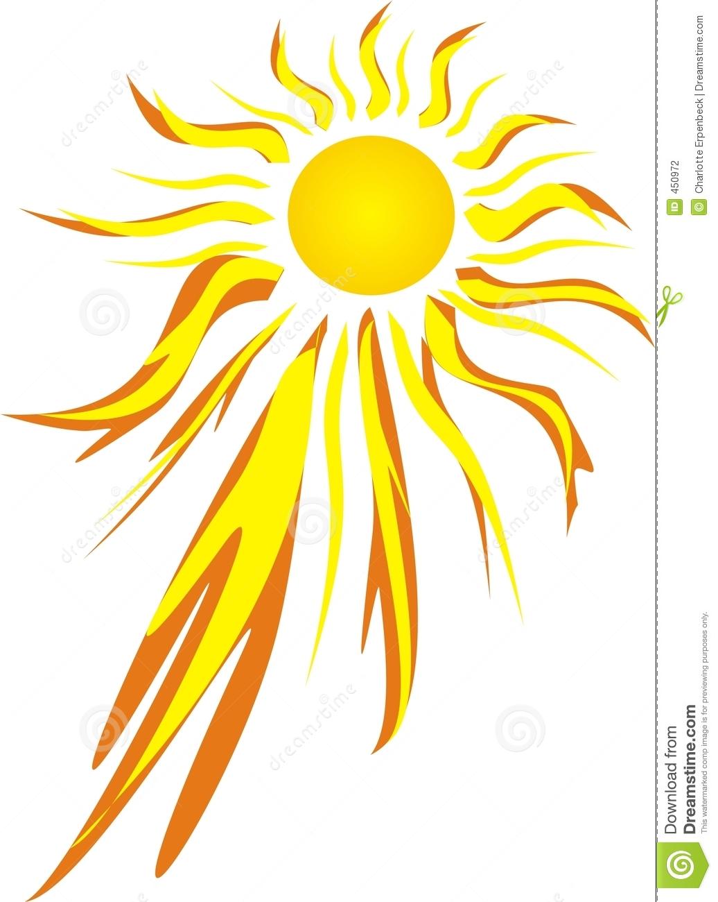 Sun Burn Clip Art.