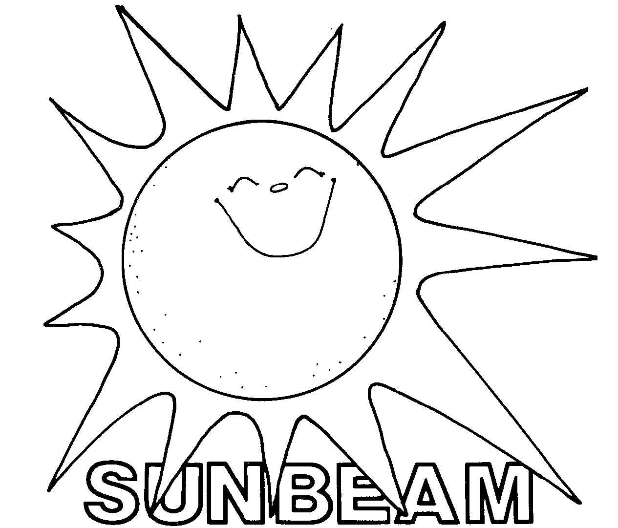 Lds sunbeam clipart.