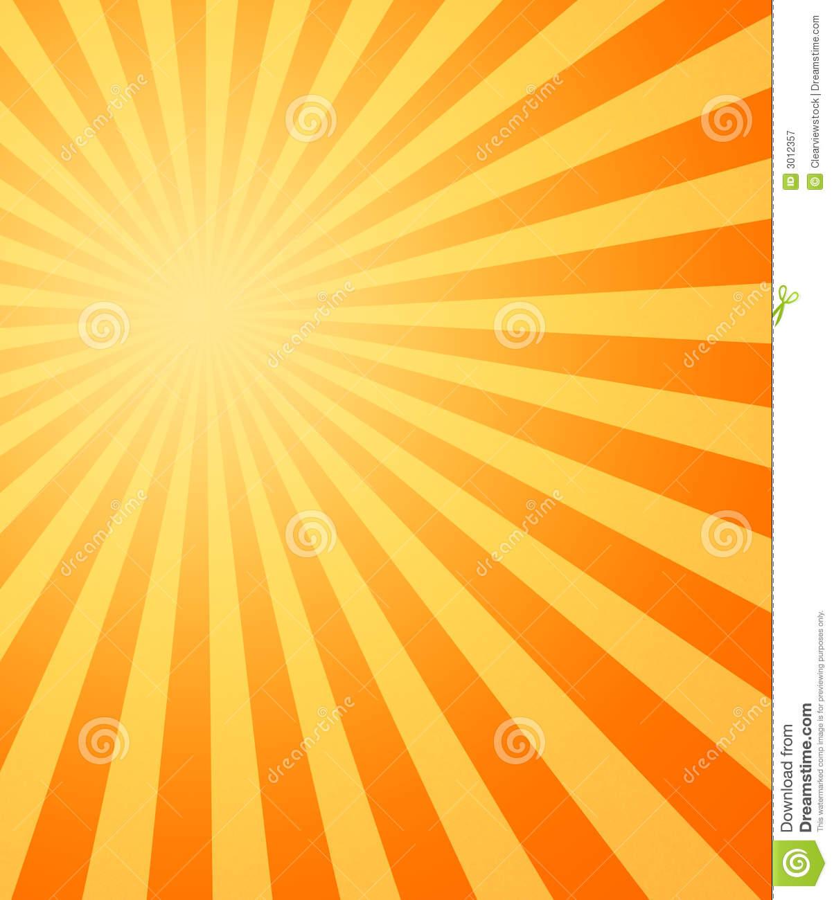 Sun beams clipart.
