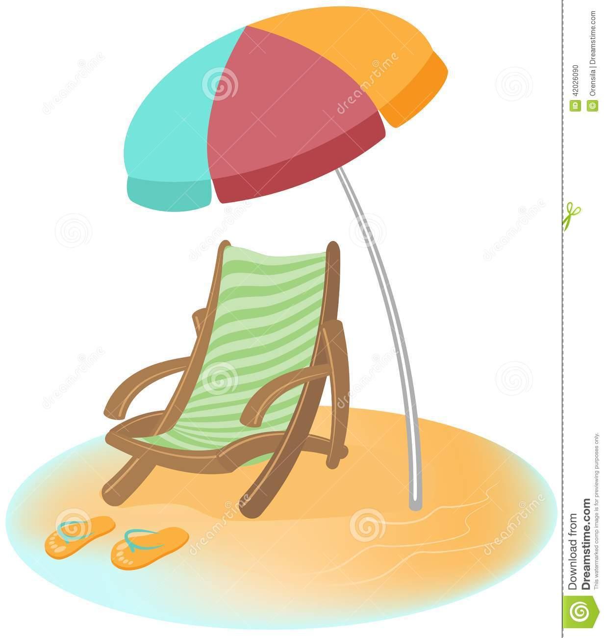 Parasol, Sunbed And Flip.
