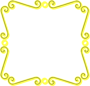 Yellow Scroll Border Clip Art at Clker.com.