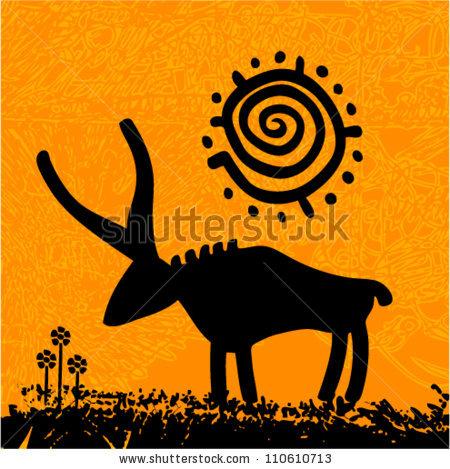 Vector Tribal Grunge Art.