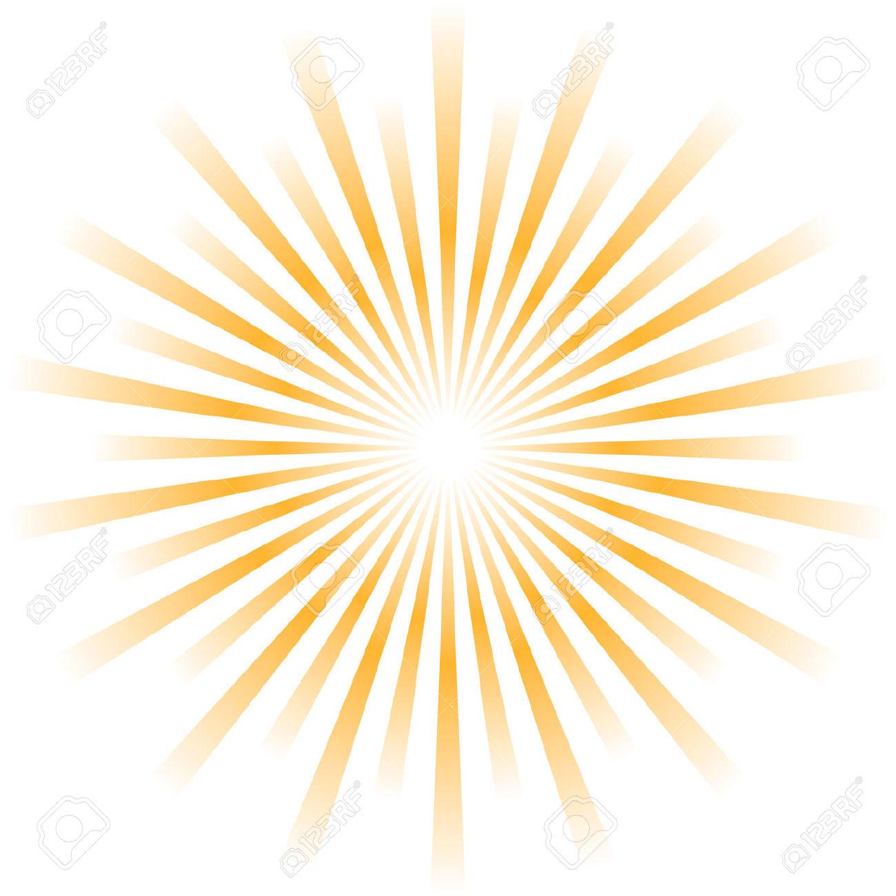 Sunburst clip art.