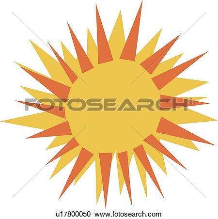 Sunburst clipart