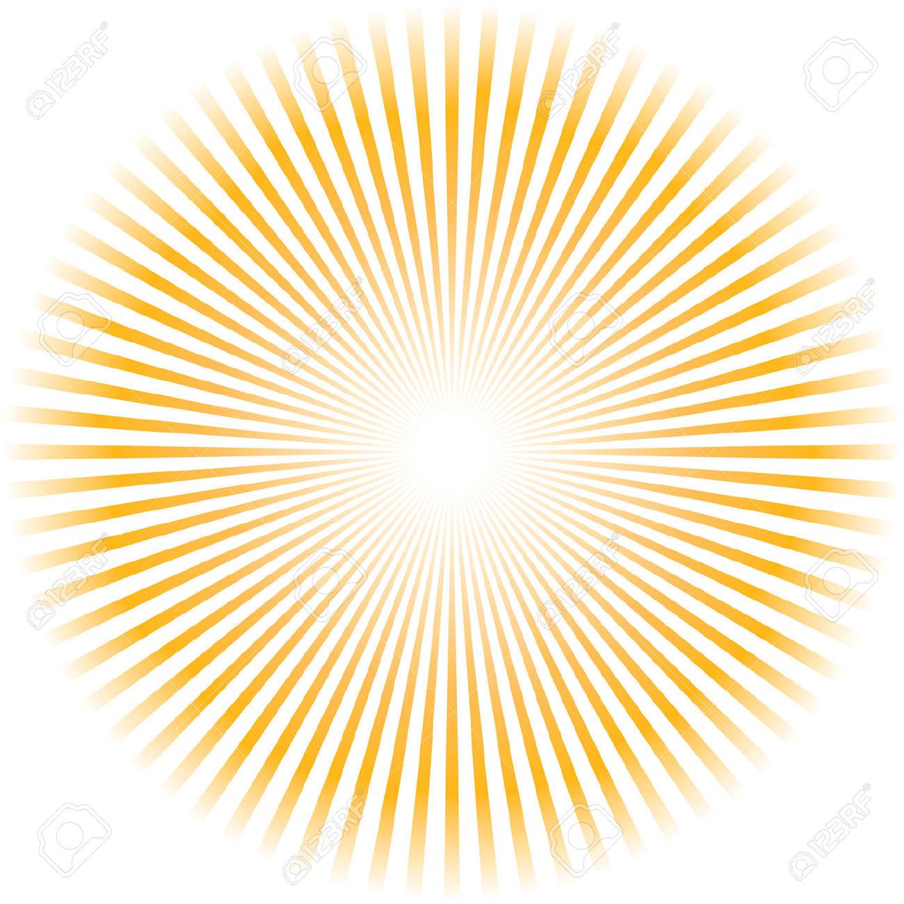 Sun Burst Clip Art.
