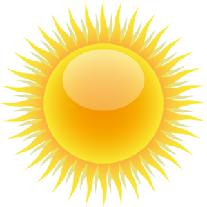 Sun Clip Art at Clker.com.