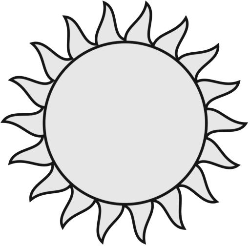 Free Sun Black And White, Download Free Clip Art, Free Clip.