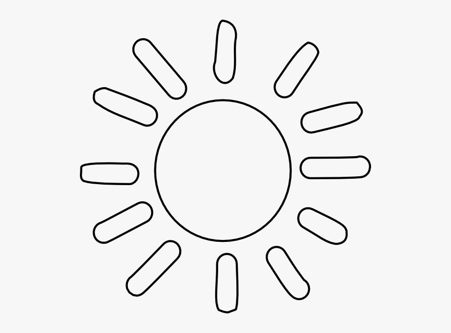 Totetude Sunshine Outline Clip Art At Clker.