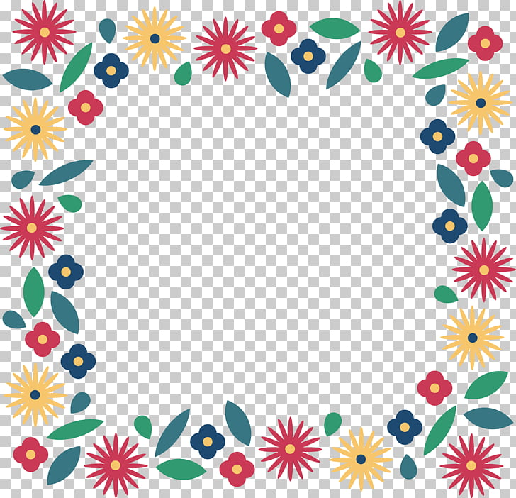 Floral design Symmetry Area Pattern, Cartoon sun flower.