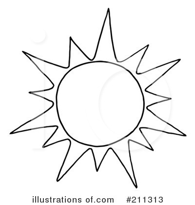 Black And White Drawing Of The Sun at GetDrawings.com.