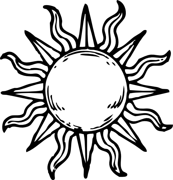 Library of sun drawing vector royalty free library png files.
