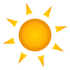 Sun Clip Art at Clker.com.