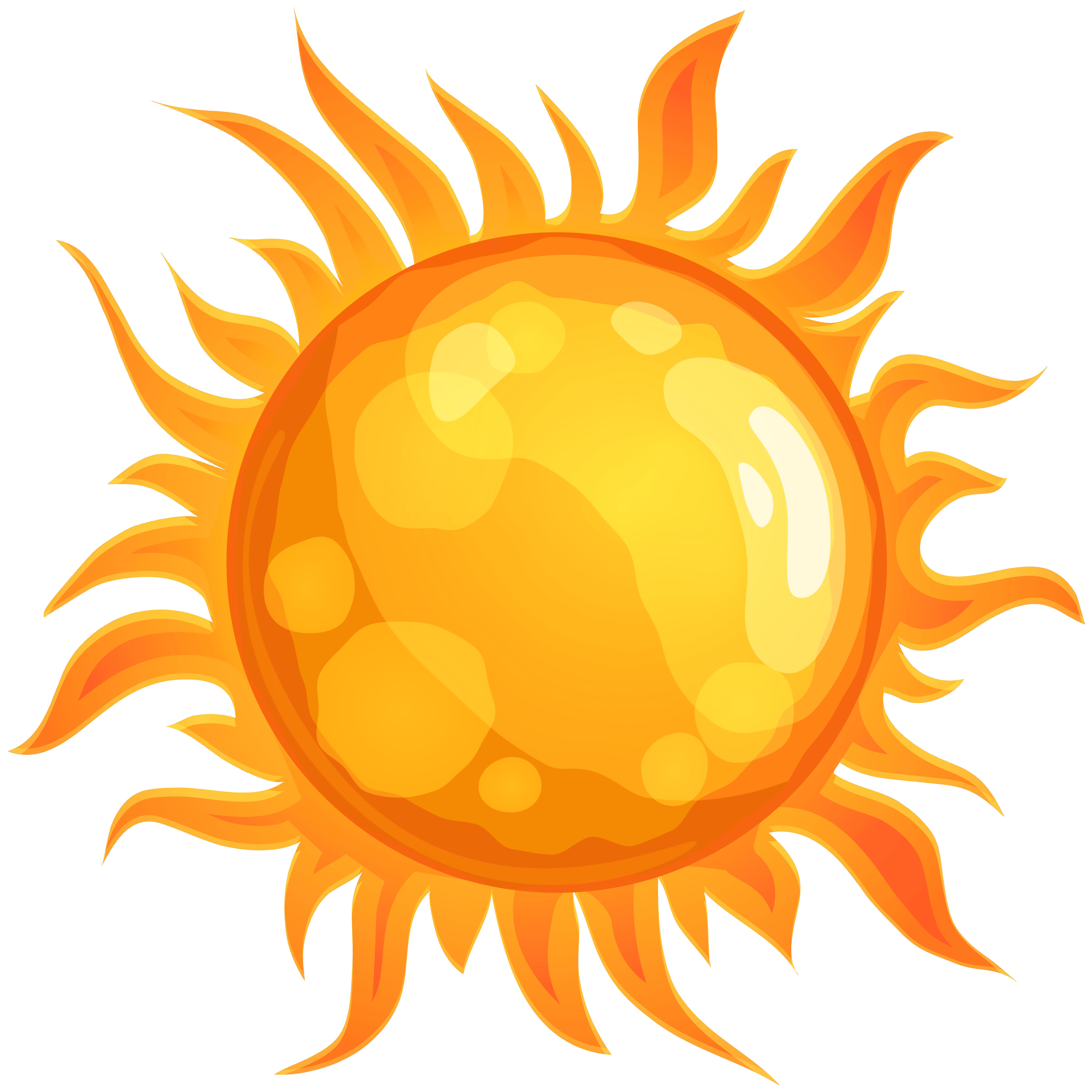 Sun PNG Clip Art.
