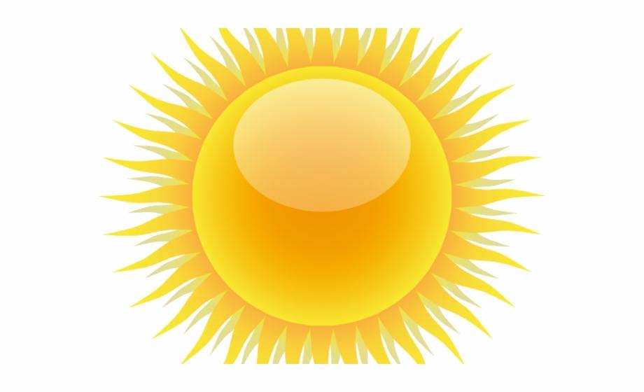 Sun Clipart Half.