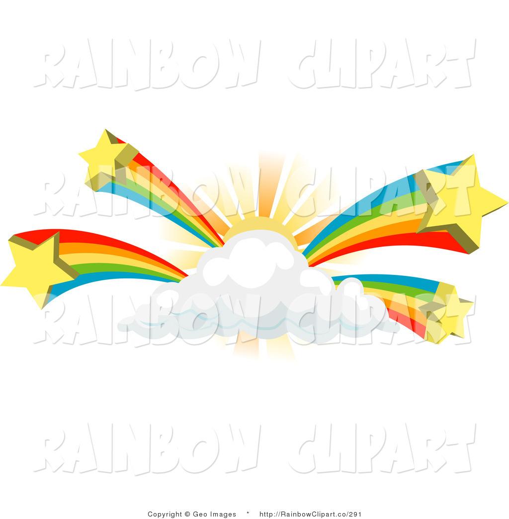 Rainbow And Sun Clipart.
