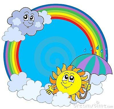 Sun Cloud Rainbow Clipart 20 Free Cliparts Download