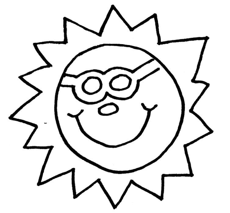 Cool Sun Drawings.