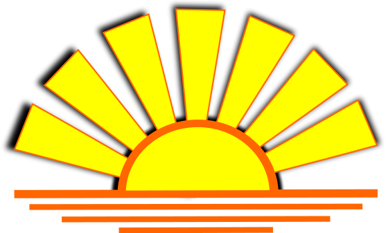 Sundown Clipart.
