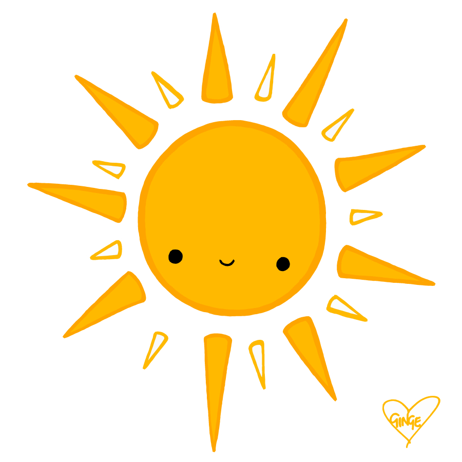 Sun Clipart Drawing.
